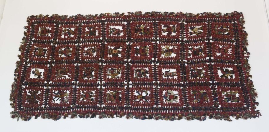 A pre-Inca, Paracas textile named