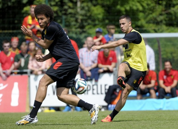 Eden Hazard and Axel Witsel