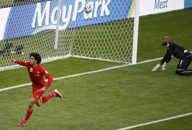 Marouane Fellaini Belgium Algeria