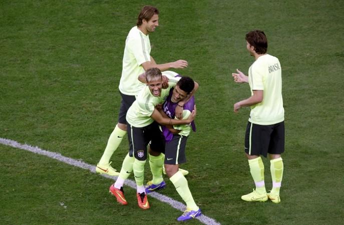 Brazil Neymar Hulk
