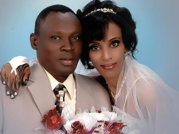 Mariam Ibrahim with her husband Daniel Wani