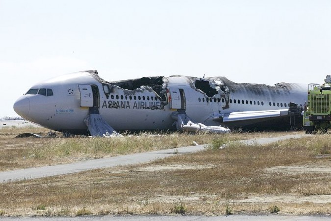The  San Francisco crash of Asiana Airlines Flight 214 last year, was due to pilots' mismanagement.