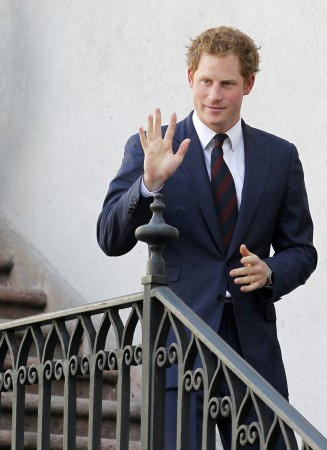 Prince Harry has received a marriage proposal from a girl called 'Middleton' in Chile.