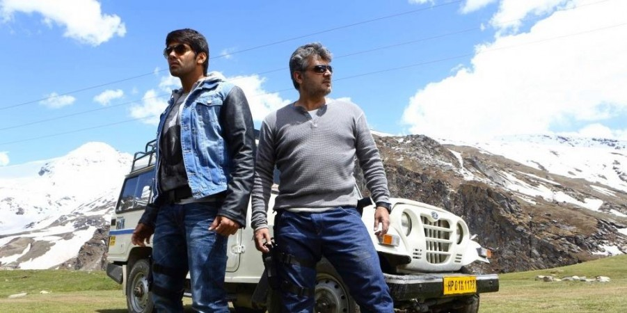 "Arya-Ajith in ""Arrambam"""