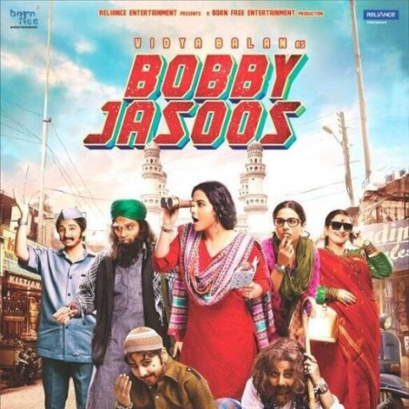 """Poster of """"Bobby Jasoos"""""""
