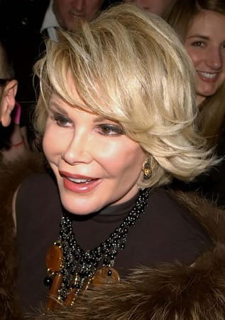 Joan Rivers has called US President Obama a gay while describing the First Lady Michelle Obama as 'Tranny'.