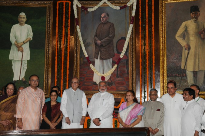 Modi pays tributes to Syam Prasad Mookherjee