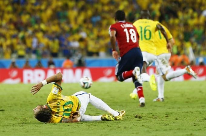 Neymar Brazil Zuniga Colombia