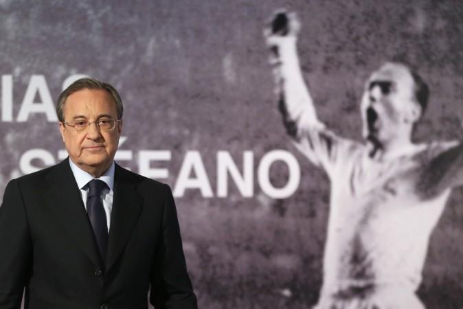 Alfredo Di Stefano, Florentino Perez