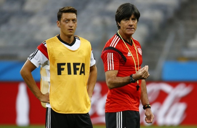 Germany Mesut Ozil Joachim Low