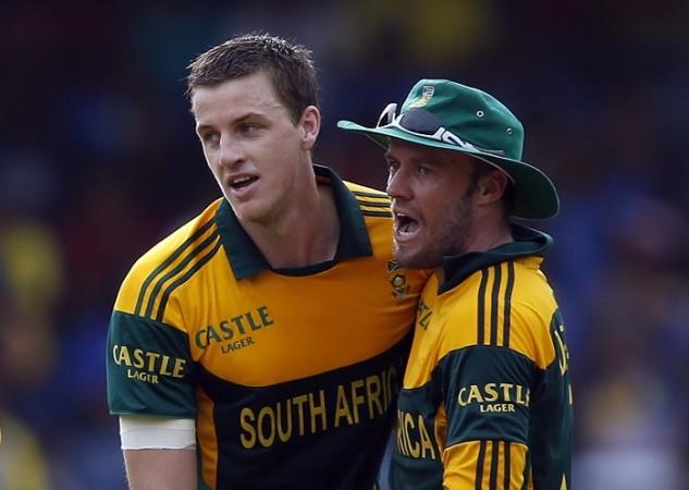 Morne Morkel and AB de Villiers.