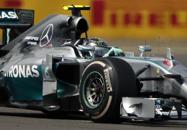 Mercedes Team Nico Rosberg