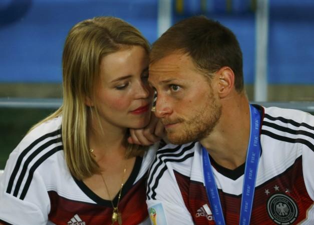 Benedikt Howedes and Lisa Wesseler