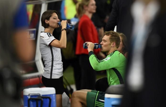 Manuel Neuer and Freundin Kathrin Gilch