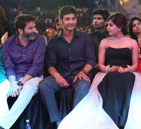Trivikram Srinivas, Mahesh Babu and Samantha