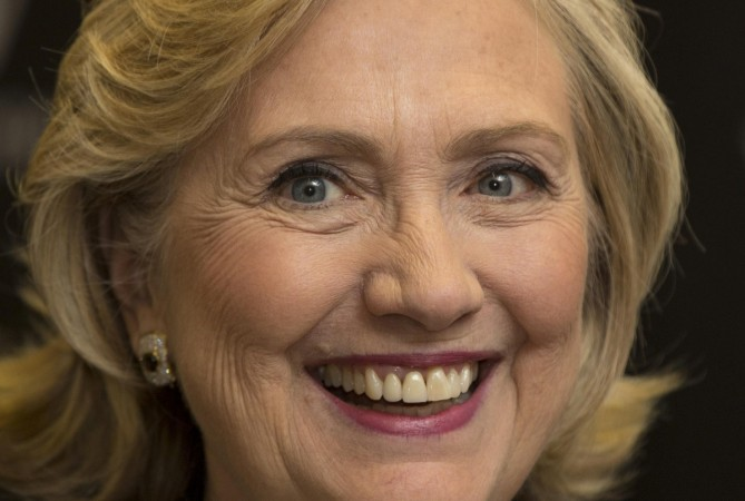 People were expecting Hillary Clinton to give some hints about running for US presidency in 2016 on The Daily Show.