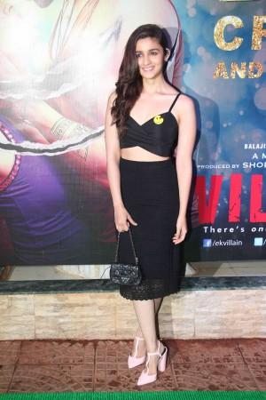 Alia Bhatt at Ekta Kapoor's Party