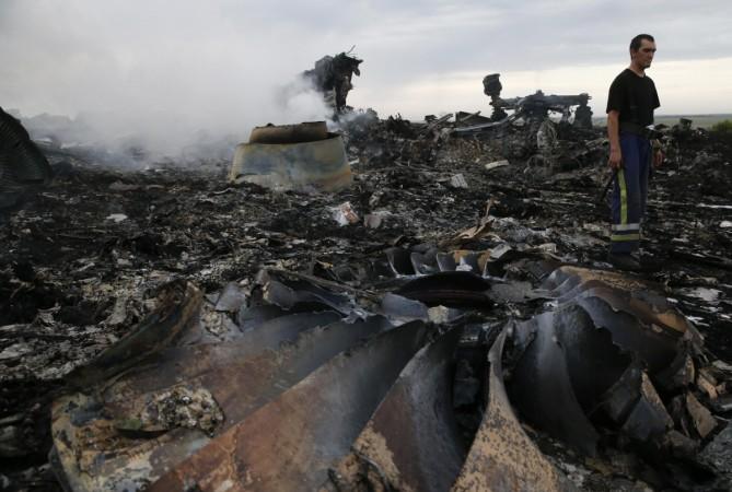 Malaysia Airlines crash