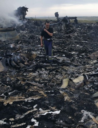 Malaysia Airlines flight MH17 crash
