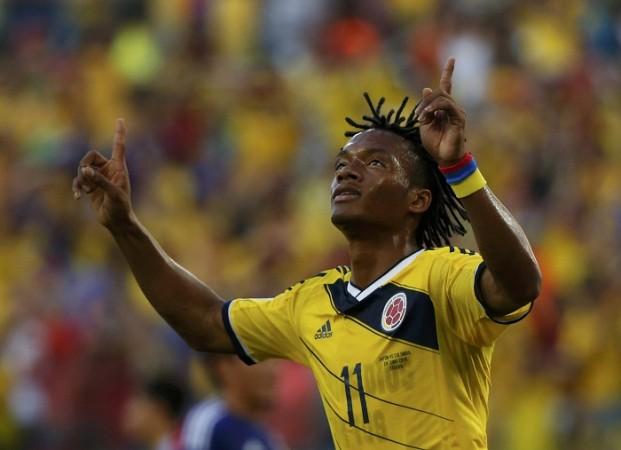 Juan Cuadrado Colombia