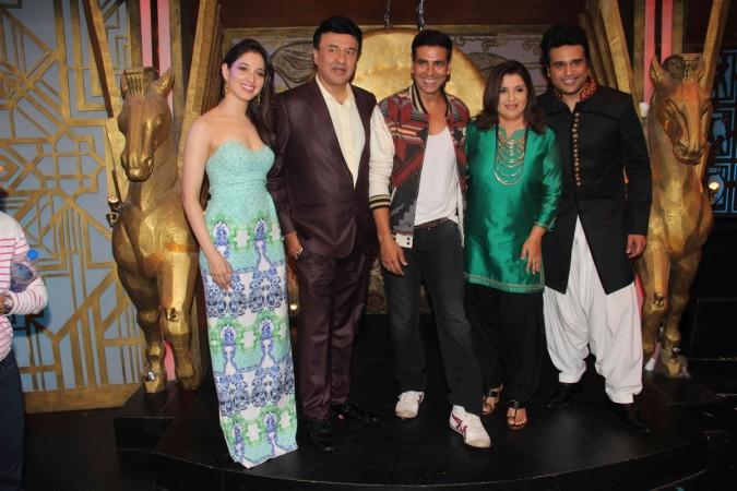 Akshay Kumar, Tamannaah Bhatia Promote 'Entertainment' on Talent Show
