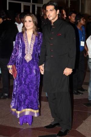 Zayed Khan and Malaika Parekh