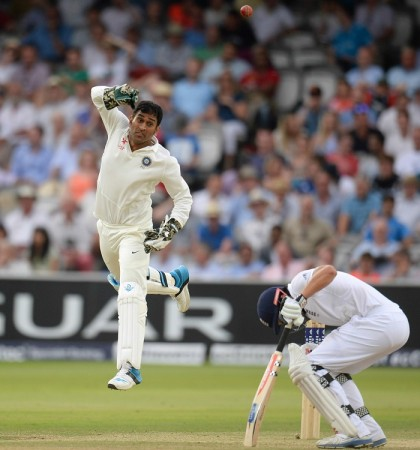 Dhoni India England