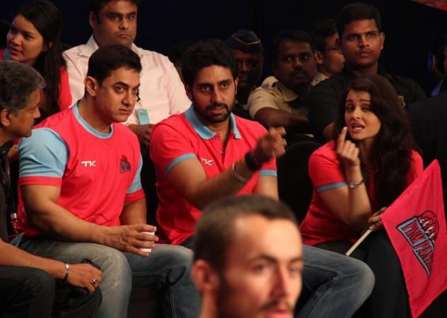 Aamir, Abhishek and Aishwarya Rai