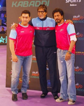 Aamir, Amitabh Bachchan and SRK