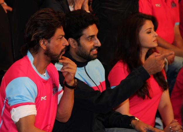 SRK, Abhishek and Aishwarya Rai