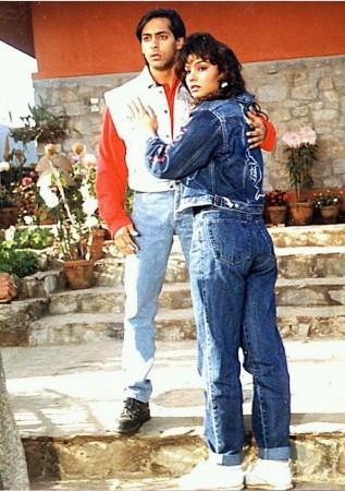 Salman Khan and Somy Ali