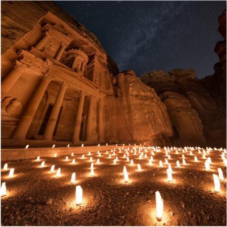 Ancient Petra Treasury