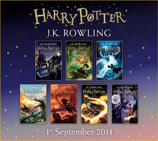 Harry Potter Books from Bloomsbury