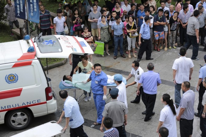 A massive explosion at a factory in eastern China has killed over 65 people, local media report.