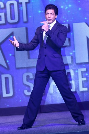 Shah Rukh launches 'Got Talent World Stage Live'