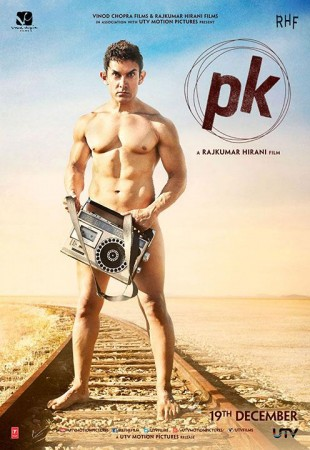 Aamir Khan poses nude for 'P.K.' poster