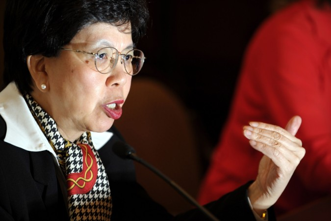WHO Director General Dr Margaret Chan