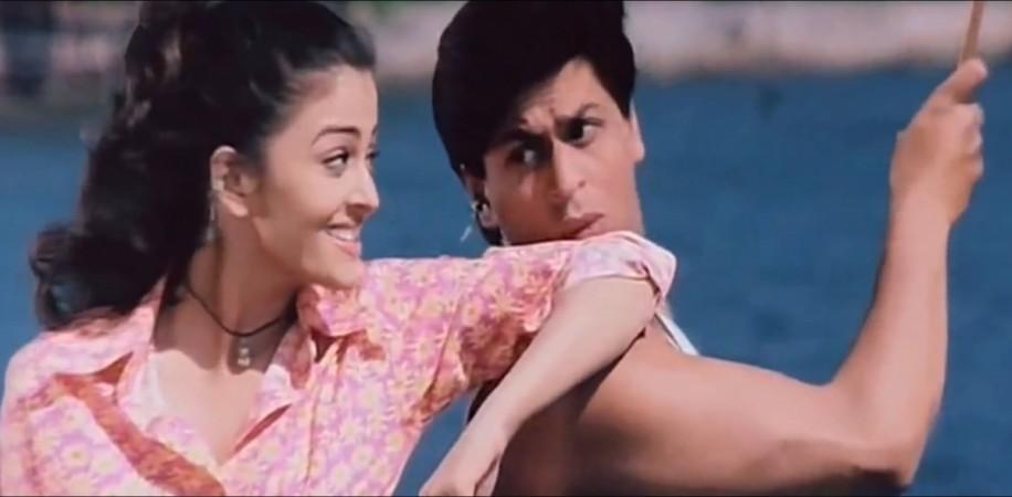 Shah Rukh Khan, Aishwarya Rai in Josh