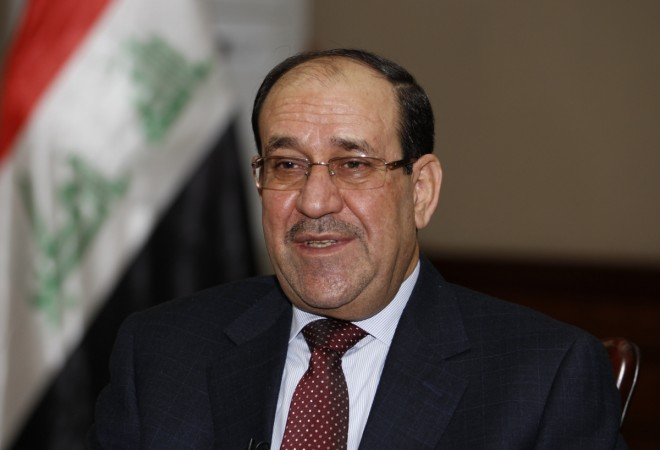 Prime Minister Nouri al-Maliki has resisted calls to step down accusing the new president of violating Iraqi law.