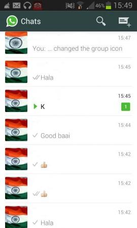 WhatsApp dp's