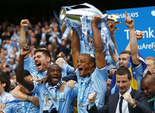 Manchester City English Premier League title