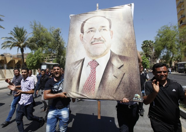 Iraq's Nauri al-Maliki has been alienated after US and Iran have backed appointment of the new PM.