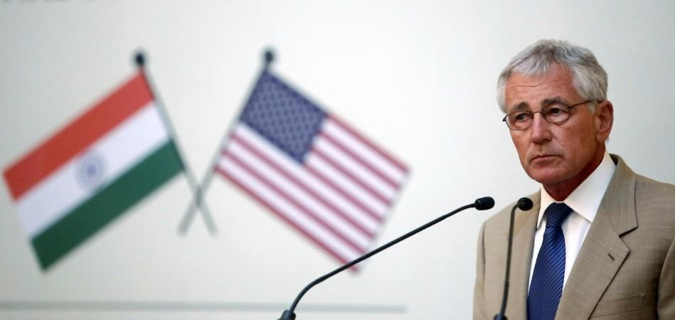 US Secretary of Defence Chuck Hagel