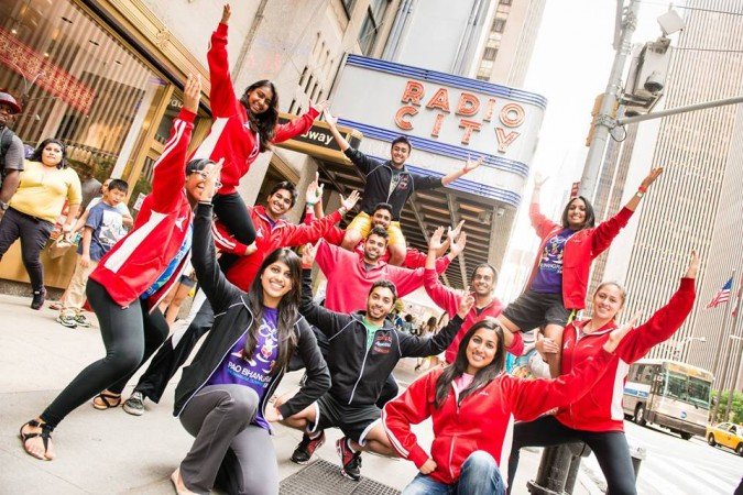 Cornell Bhangra prepare to perform live on America's Got Talent