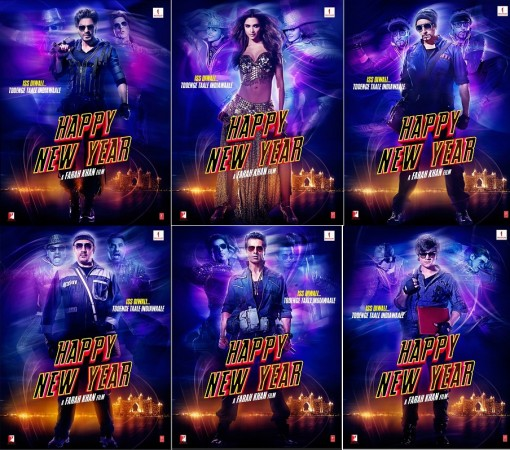 """Happy New Year"" latest posters"