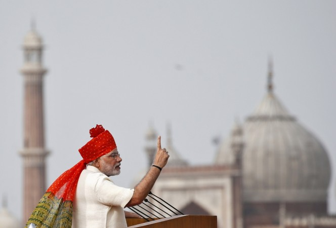 Narendra Modi Makes Independence Day Speech