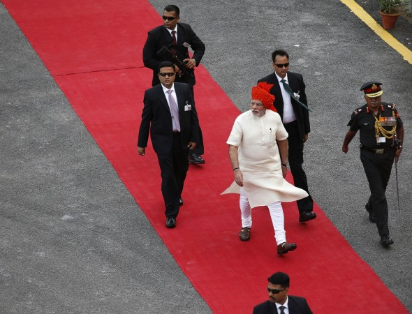 Narendra Modi Makes Independence Day Speech