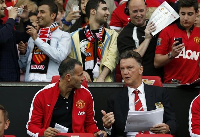 Manchester United Louis Van Gaal Ryan Giggs