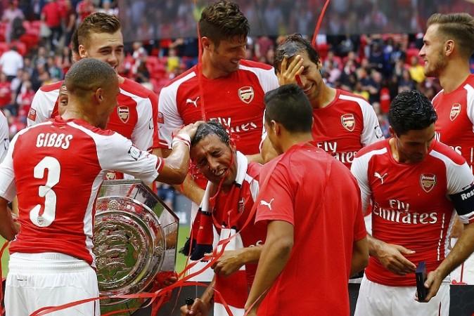 Arsenal Community Shield Cazorla