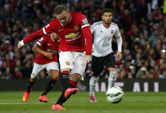 Manchester United Wayne Rooney Valencia